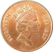 2 cents - Elizabeth II (3e effigie) -  avers