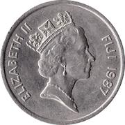 20 cents - Elizabeth II (3e effigie) -  avers