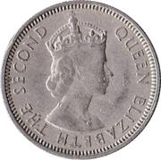 6 pence - Elizabeth II (1ere effigie) – avers