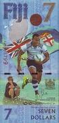 7 Dollars - Fijian Rugby 7s Team winning the Gold Medal in Rio de Janeiro, Brazil. – avers