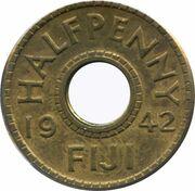 ½ penny - George VI – revers