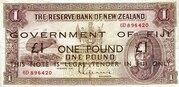 1 pound WW2 Issue – avers