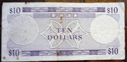 10 Dollars 1974 – revers