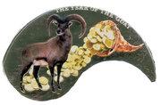 1 dollar Année de la chèvre – revers