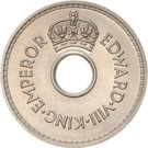 1 penny - Edward VIII – avers