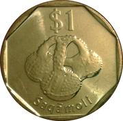 1 dollar vokai -  revers