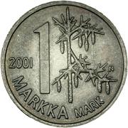 1 markka (Souvenir) – revers