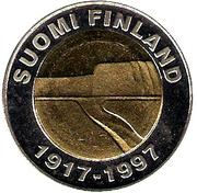 25 Markkaa  80e anniversaire de l'indépendance de la Finlande – avers