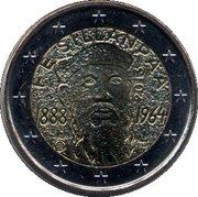 2 euros Frans Eemil Sillanpää – avers