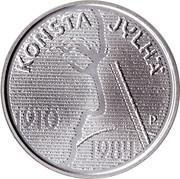 10 euros Konsta Jylhä et la musique Folk – avers