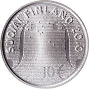 10 euros Konsta Jylhä et la musique Folk – revers