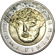 Finland 2001 25 Markkaa – avers