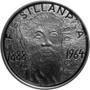 10 euros F. E. Sillanpää – revers