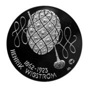 10 euros Henrik Wigström – avers