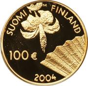 100 euros Albert Edelfelt – avers