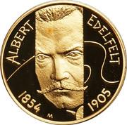 100 euros Albert Edelfelt – revers