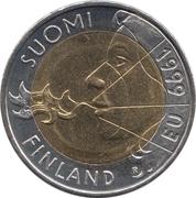 10 markkaa (Présidence de l'UE) – avers