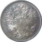 50 penniä - Alexandre II – avers