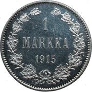 1 markka - Alexandre II – revers