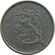 25 penniä – avers
