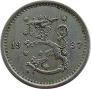 50 penniä – avers