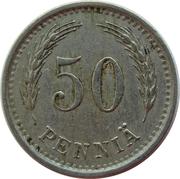 50 penniä – revers