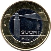 5 euros Phare de Sälskär en Åland – avers