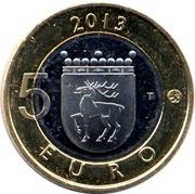 5 euros Phare de Sälskär en Åland – revers