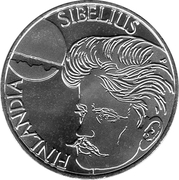 100 Markkaa (Jan Sibelius) – avers