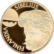 1000 markkaa Jean Sibelius – avers