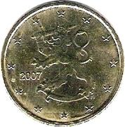 50 cents d'euro (2e type, 2e carte) -  avers