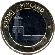 5 euros Cathédrale de Turku en Finlande du Sud-Ouest – avers