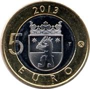5 euros Sammallahdenmäki en Satkunta – revers