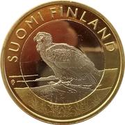 5 euros Le pygargue à queue blanche en Åland – avers