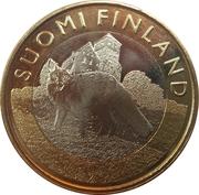 5 euros Le renard en Finlande du Sud-Ouest – avers