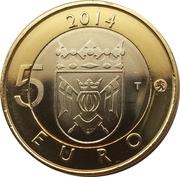 5 euros Le renard en Finlande du Sud-Ouest – revers