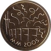 20 euros Championnat du monde d'athlétisme (IAAF) – avers