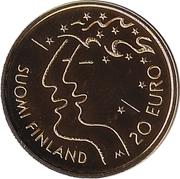 20 euros Championnat du monde d'athlétisme (IAAF) – revers
