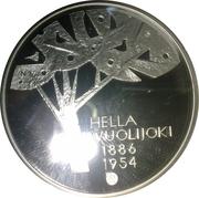 10 euros Hella Wuolijok – avers