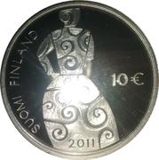 10 euros Hella Wuolijok – revers