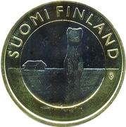 5 euros L'hermine d'Ostrobotnie – avers
