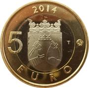 5 euros Le coucou en Carélie – revers