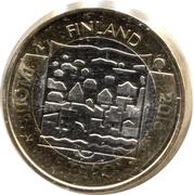 5 euros Kaarlo Juho Ståhlberg – avers
