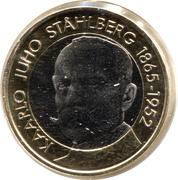 5 euros Kaarlo Juho Ståhlberg – revers