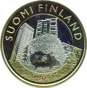 5 euros Le hérisson en Uusimaa – avers