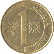 1 markka -  revers