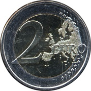 2 euros Georg Henrik von Wright – revers
