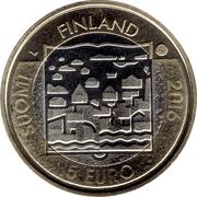 5 euros Pehr Evind Svinhufvud – avers