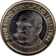 5 euros Pehr Evind Svinhufvud – revers