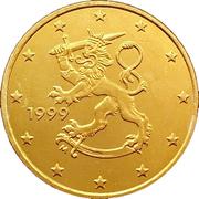50 cents d'euro (1er type, 1ère carte) -  avers